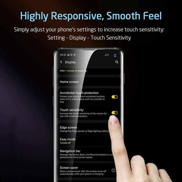 Samsung Galaxy S10e - Härdat Glas Skärmskydd