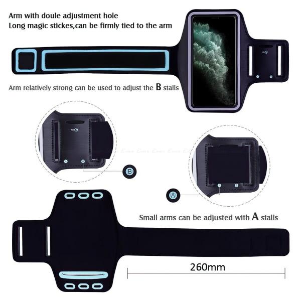 iPhone 12 Mini - Sportarmband Svart