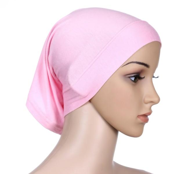 Heltäckande Hijab Cap Underscarf Neck Head Grå