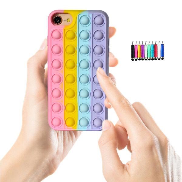 iPhone 6/7/8/SE(2020) - Skal / Skydd / Pop It Fidget iPhone 7