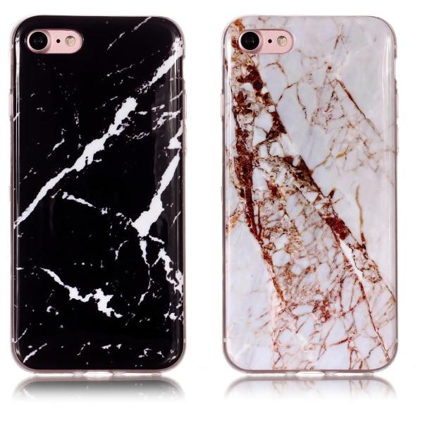 iPhone 7/8/SE (2020) - Skal / Skydd / Marmor iPhone 8 Vit