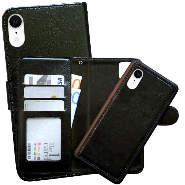 iPhone Xr - Läderfodral / Skydd Vit