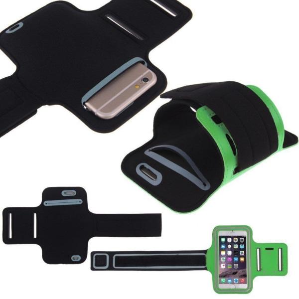 Nokia 7 Plus - Sportarmband Svart