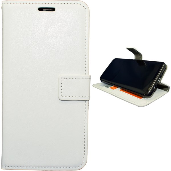 Samsung Galaxy S6 - Läderfodral / Plånbok Svart