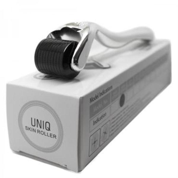 UNIQ Dermaroller 540 mikronålar 0,5 mm - Ansikte Silver