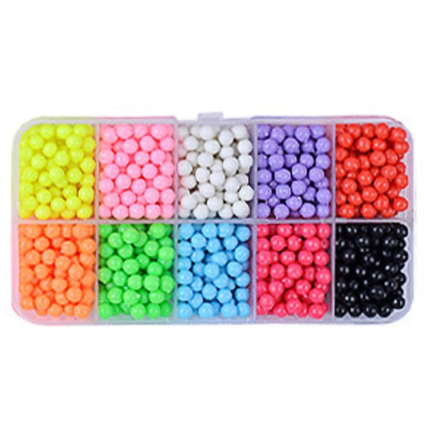 Aqua Beads Water Fuse Beads Refill in 10 SEPARATE Populär 10 Grid candy