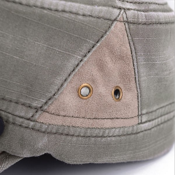 Army Hat Classic Cadet Military Cap Style Patrol Summer Outdoor Beige