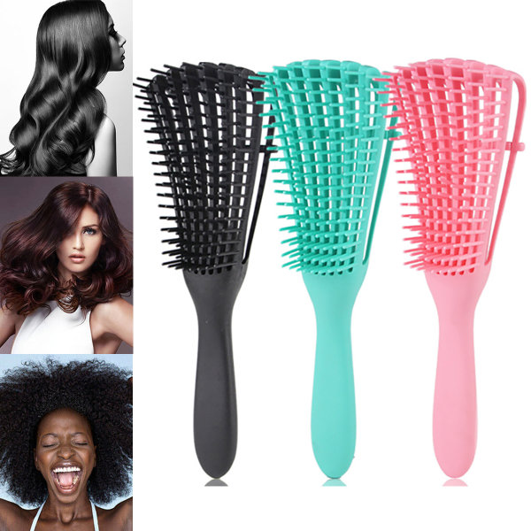 Antistatisk borststylingverktyg för hårborste Black