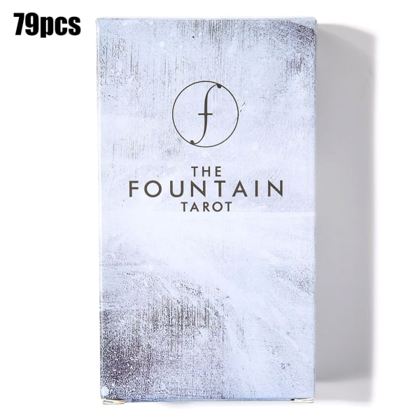 79 kort The Fountain Tarot Illustrated Deck & Guidebook Game