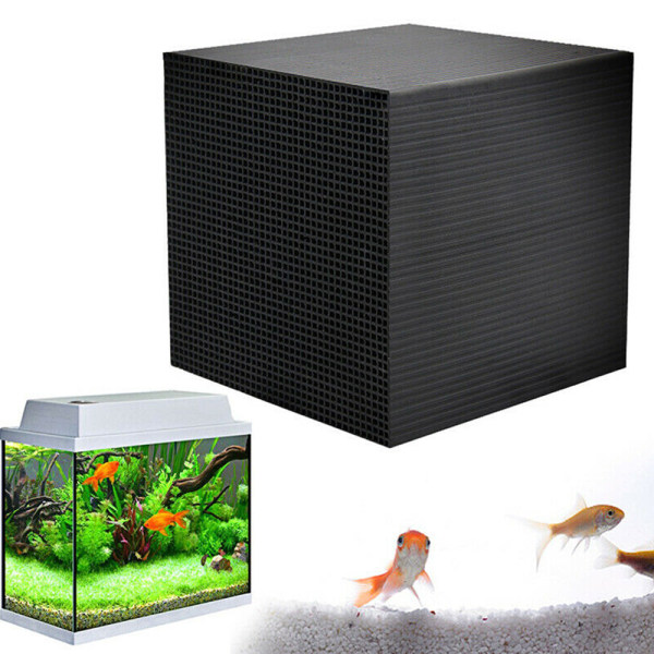 Fish Tank Eco-Aquarium Water Purifier Cube Filter 10*10*5cm