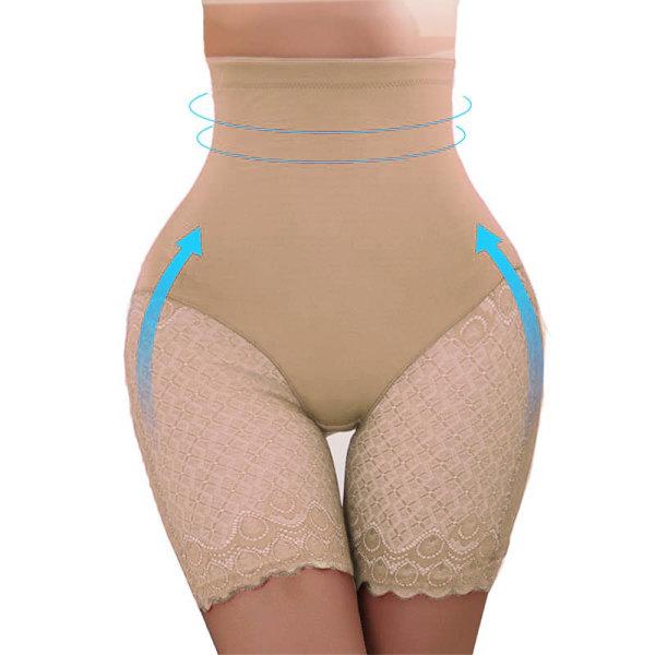Kvinnor Buk Body Shape trosor Nude L