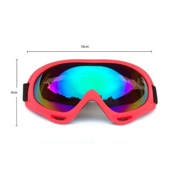 Vuxna Anti-dimma Wind Damm Surfing Jet Ski Snowboard solglasögon #7