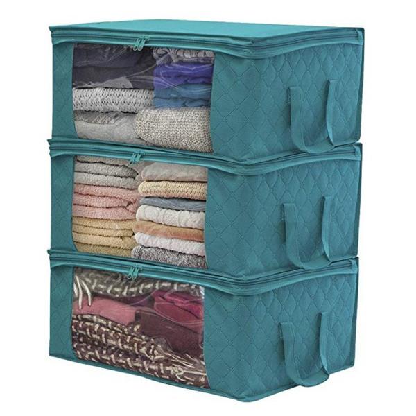 1PCS Underbädd Varierande lådor för klädförvaring Grey