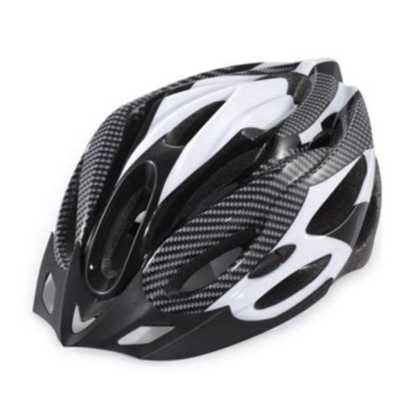 Kamouflage Färg Cykelcykel Helmat Safty Ride Black&White