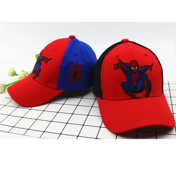 SPIDER-MAN basebollkeps Justerbara fritidshattar för barn Blue & Net