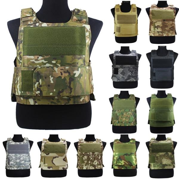 Unisex Assault Lightweight Plate Carrier Tactical Vest #10