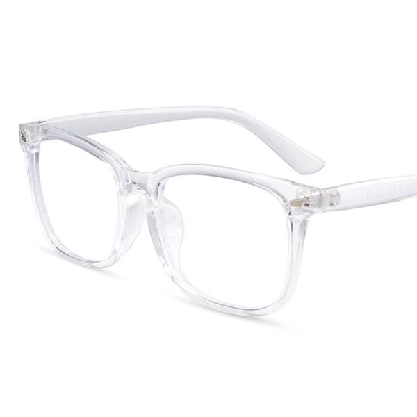 Datorglasögon Anti Blue Light Filter UV Block Eyewear Unisex White 1 Pack