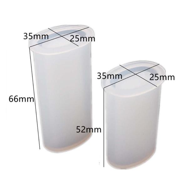 Lättare Skyddskåpa - DIY Silikonform - Kristall Silikonform