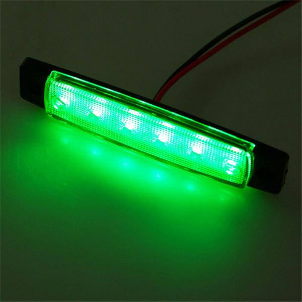 4st 12V rödgrön båtnavigering LED-lampor As pics