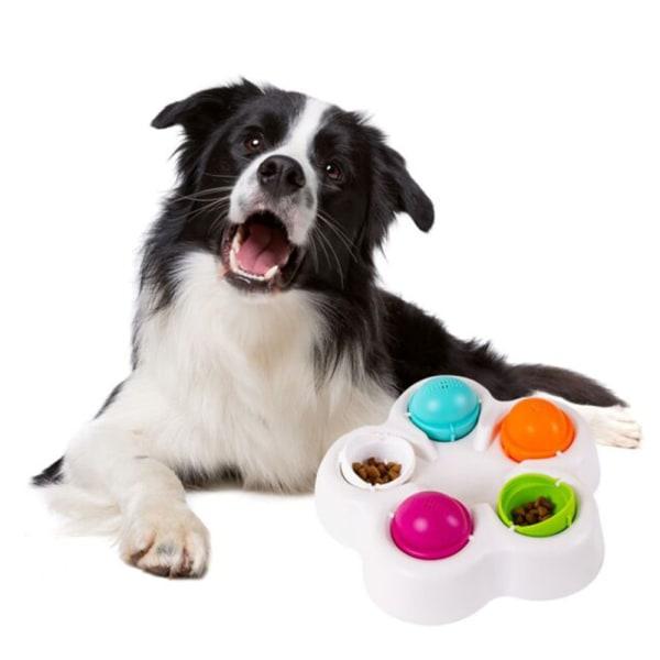 Spinning Puzzle Treat Söker Hundspel Interaktiv leksak