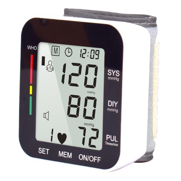 Digital blodtrycksmätare för handleden hjärtfrekvensmätning