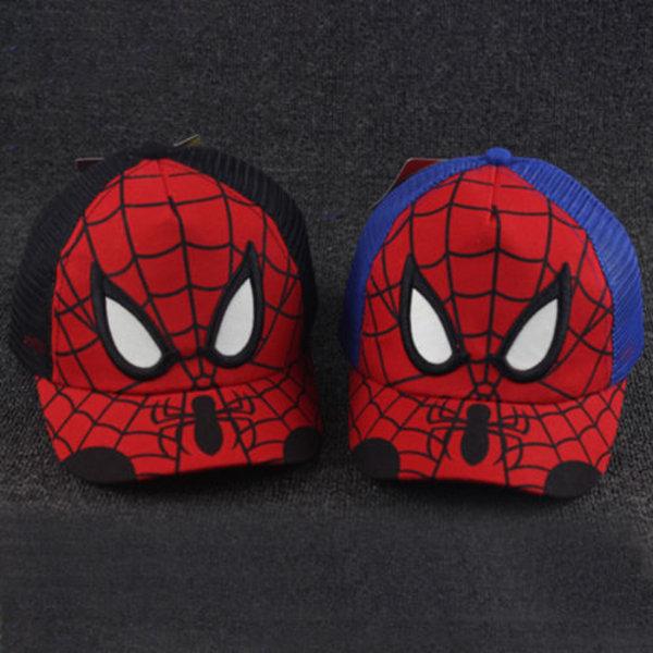 Kids Boy Spiderman Caps Casual Sports Gym Casual Mössor Blue