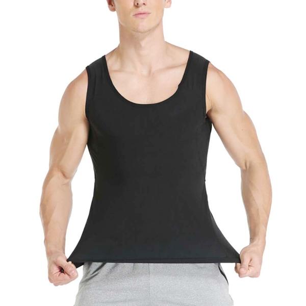 Unisex Sweat Slimming Vest Sport Sauna Traning Tank Top Women L/XL