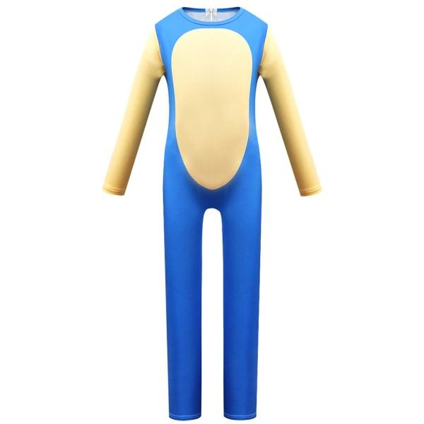 Party Kids Anime Cosplay-kostym Sonic Bodysuit Costume 120cm