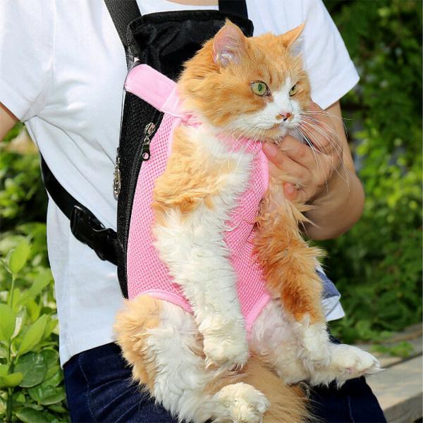 Pet Carrier Ryggsäck Justerbar Pet Hund Carrier för husdjur