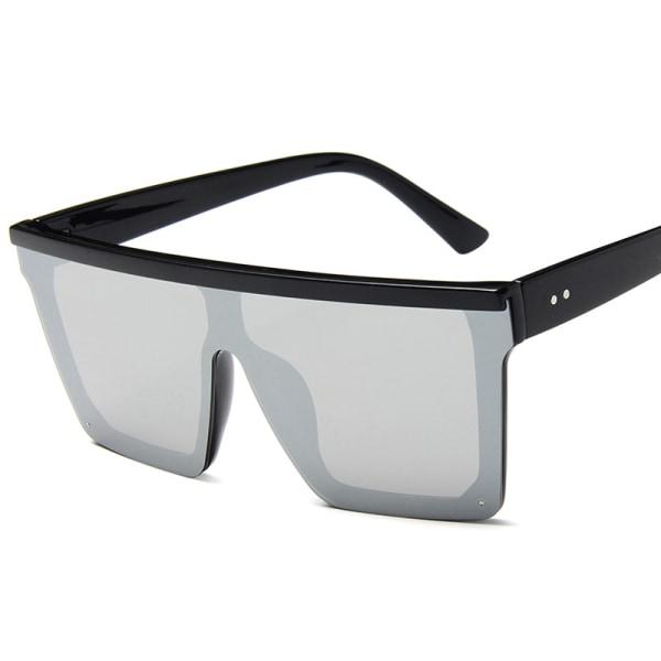 Kvinnor Herr Solglasögon Svart Leopard Fyrkantiga glasögon Grey 1 Pack