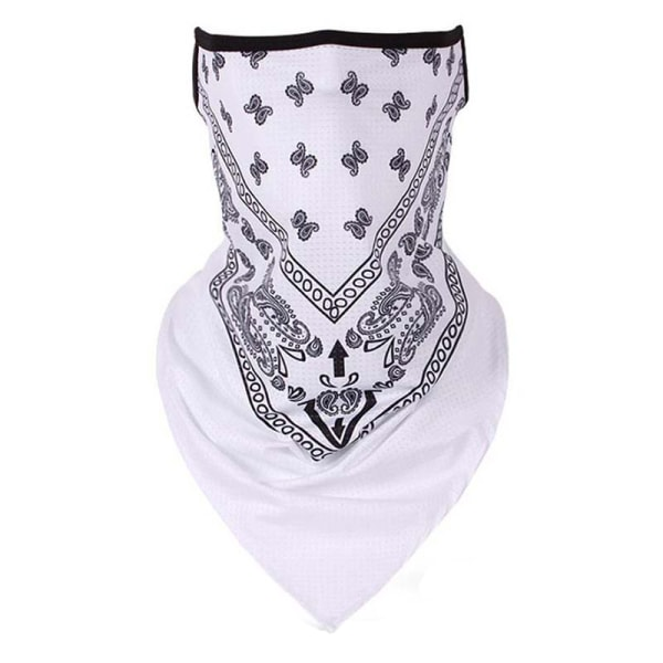 Unisex andas dammtät scarf sol scarf haklapp White