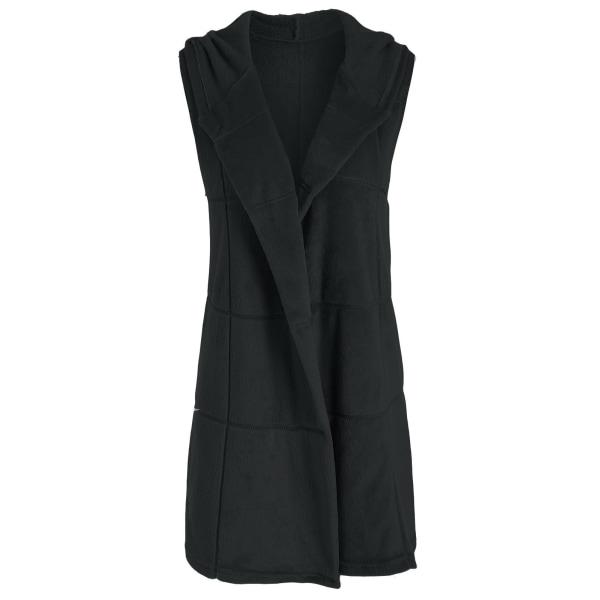 Winter Plush Jacket Fashion Vest Coat Hooded Cardigans