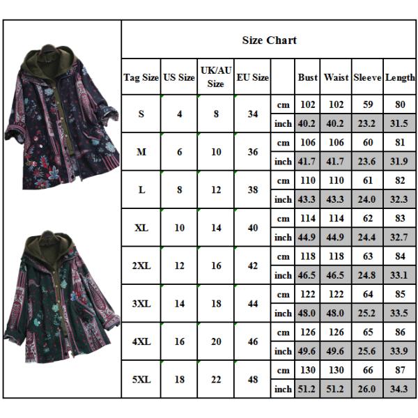 Dam Retro Hooded Vest Floral Coat Set Winter Jacket Coats