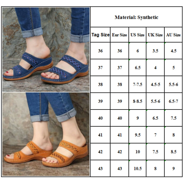 Dam Sandaler Mode Kilar Skor Sandaler Flip Flop Black 38