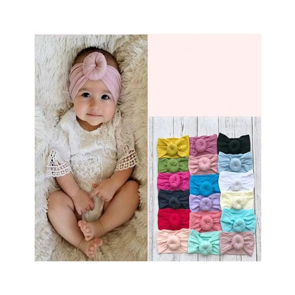 Hårband för baby/barn Boll (ceriserosa) Cerise