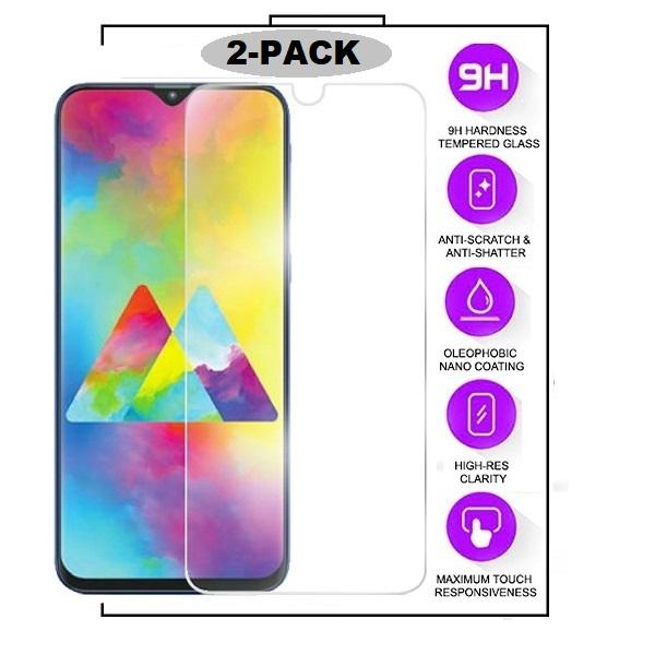 2-Pack Samsung Galaxy A12  - Härdat Glas Tempered Glass Transparent