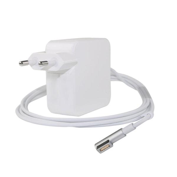 Laddare till Apple MacBook - Magsafe 60W (L-kontakt), 1.7m Vit
