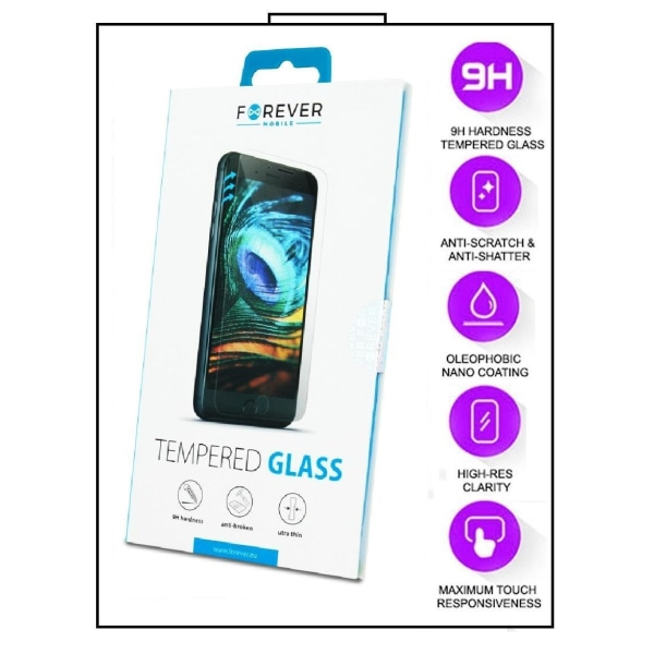 2-Pack Samsung Galaxy A22 4G  - FOREVER Härdat Glas Transparent
