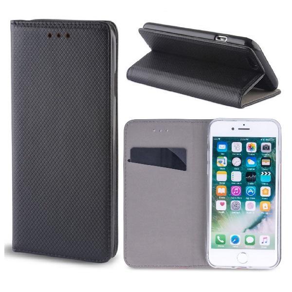 Huawei Honor 20 - Smart Magnet Fodral Mobilplånbok - Svart Black