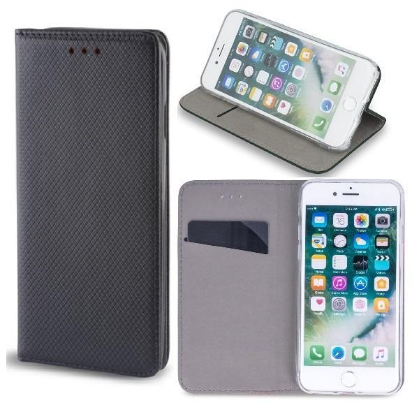 Huawei Mate 20 Lite - Smart Magnet Mobilplånbok - Svart Black