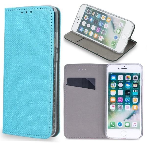 Huawei Mate 20 Lite - Smart Magnet Mobilplånbok - Turkos Turquoise