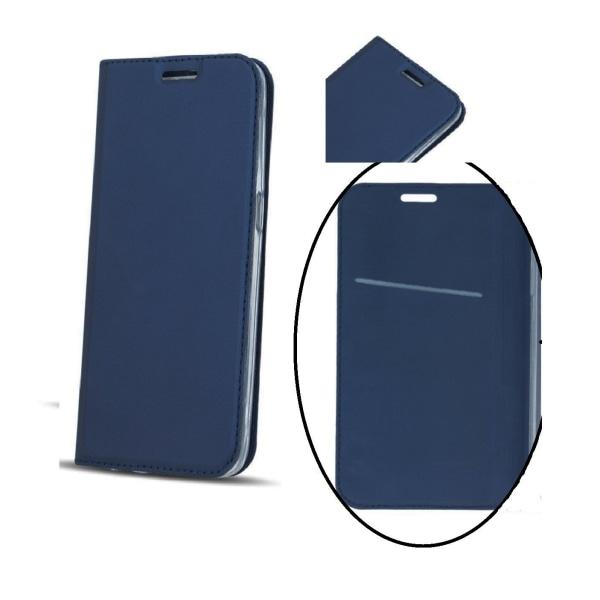 Huawei P10 - Smart Premium Fodral Mobilplånbok  - Mörkblå MarineBlue