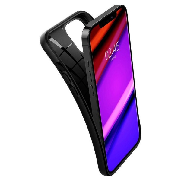 iPhone 12 / iPhone 12 PRO - SPIGEN Core Armor Skal - Svart Svart