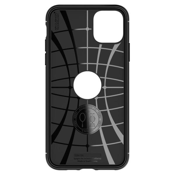 iPhone 12 Mini - SPIGEN Rugged Armor Skal - Mattsvart  Svart