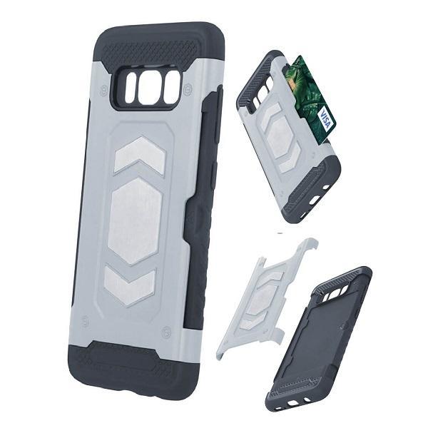 iPhone 6 Plus / 6s Plus Defender Kort Fodral - Silver Silver