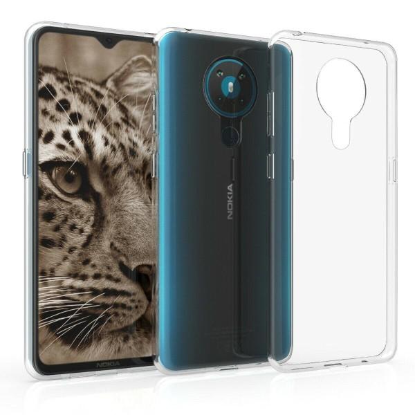 Nokia 5.3 - Transparent Slim Skal  Transparent