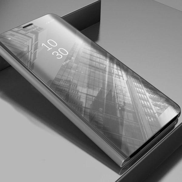 Samsung Galaxy A12 - Smart Clear View Fodral - Silver Silver