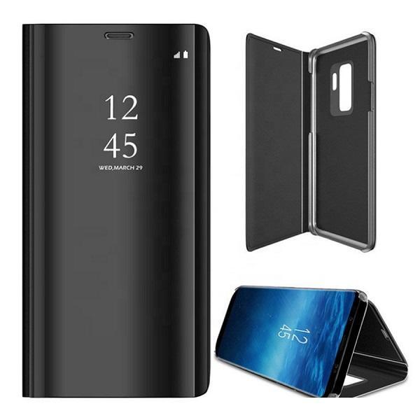 Samsung Galaxy A12 - Smart Clear View Fodral - Svart Svart