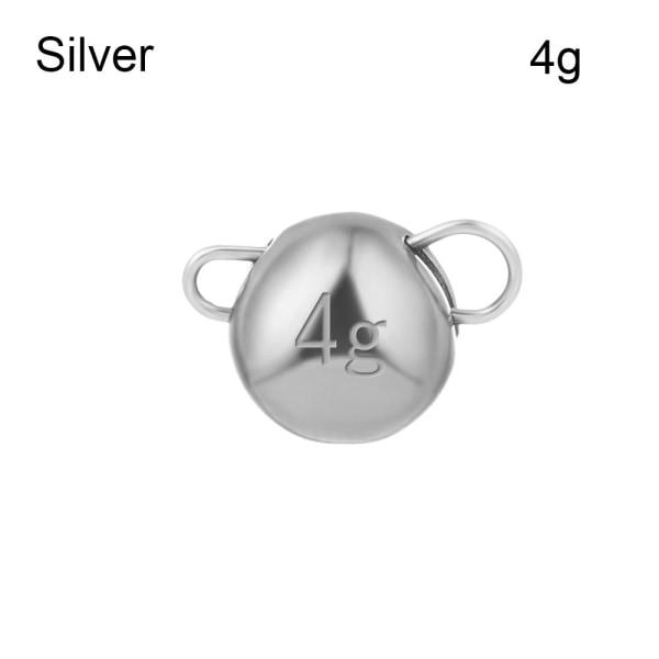 Fiske Volframfall Sinker SILVER - 4G SILVER - 4G