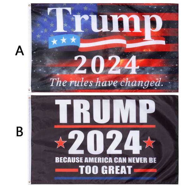 Trump 2024 Flag Take America Back BB